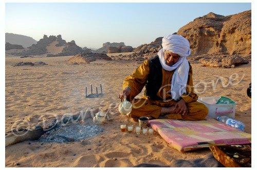 Libye - Thé dans l'Akakous
