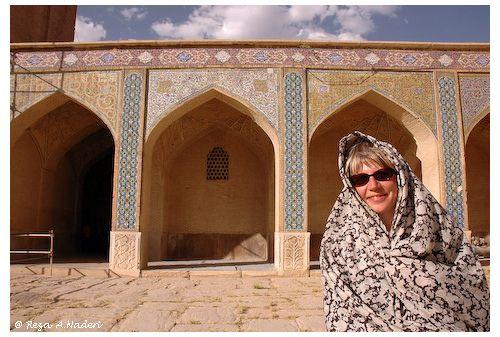 Moi à Chiraz