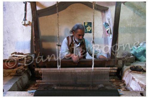 Atelier de tissage à Na'in