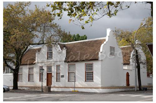 Le presbytère de Stellenbosch © Danièle Boone