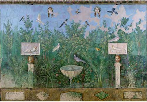 Fresque de Pompei
