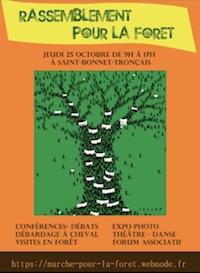 rassemblement forêt saint-bonnet de Tronçais