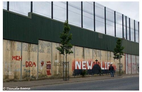 Le mur de Belfast