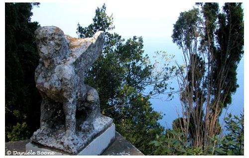 Anacapri, Villa san Michele