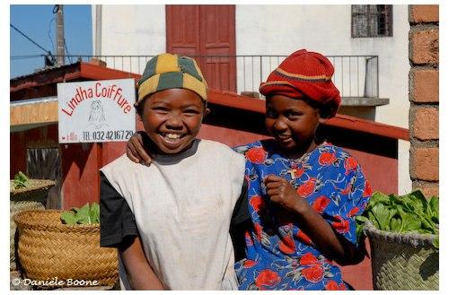 Petites marchandes de brèdes à Tana