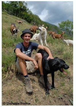 Alexandre Garon, écovolontaire