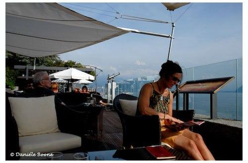 Le Deck, terrasse panoramique à Chexbres