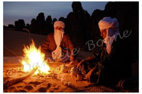 Libye - Veillée à Maghidet