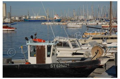 Sète, le port