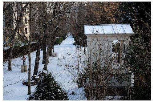 Jardin d'un monastère du XIVème arrondissement