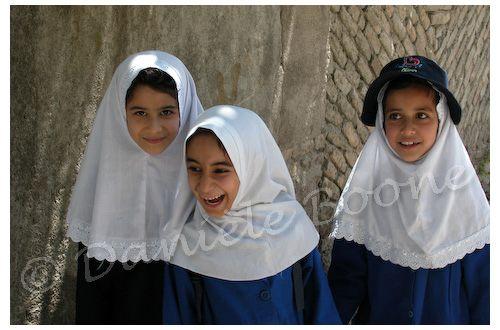 Ecolières à Torqabeh