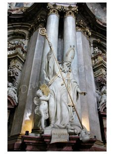 Saint Cyrille d'Alexandrie, église Saint-Nicolas