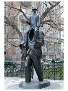 Monument à Kafka par Jaroslav Rona