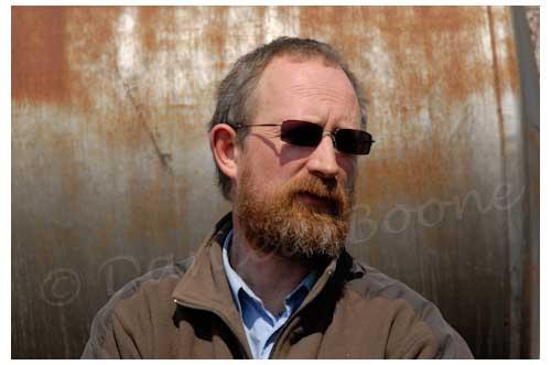 Philippe Abrahamse, responsable associé de la ferme biologique ©  Danièle Boone