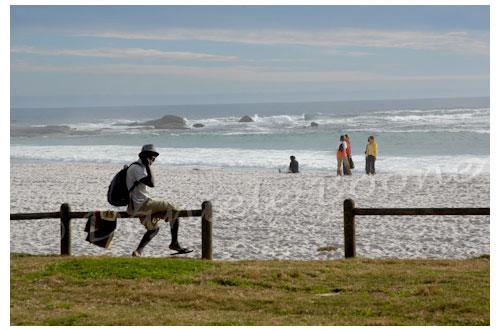 La plage de Clifton © Danièle Boone