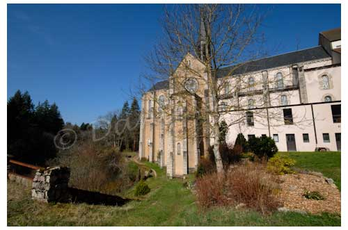 Monastère de la Pierre qui Vire © Danièle Boone