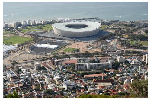 """""""Le"""" stade de Cape Town © Danièle Boone"""