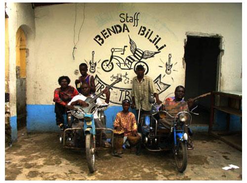 Les musiciens de Benda Bilili