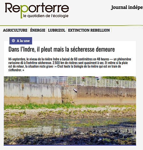Reporterre - Indre