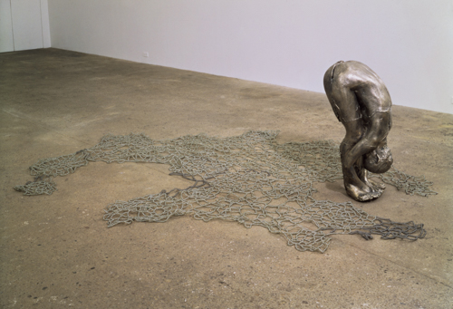 Untitled III (Upside-Down Body with Beads), 1993